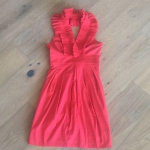 Red bcbg summer dress